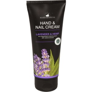 Herbamedicus Hand & Nagel Creme - Lavender & Hemp 100 ml