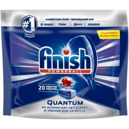 Finish Vaatwastablet- Powerball Quantum 20 tabletten