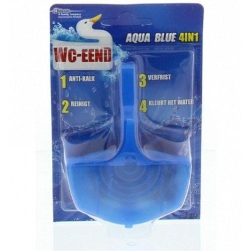 Wc-Eend Toiletblok - Aqua Blue 4 in 1 40gr