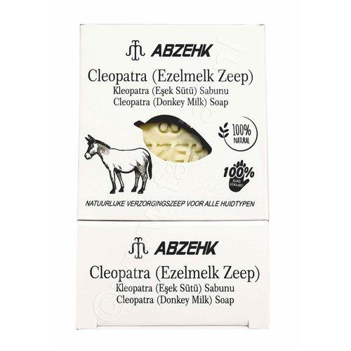 Abzehk Abzehk Zeep - Cleopatra Ezelmelk 150gr