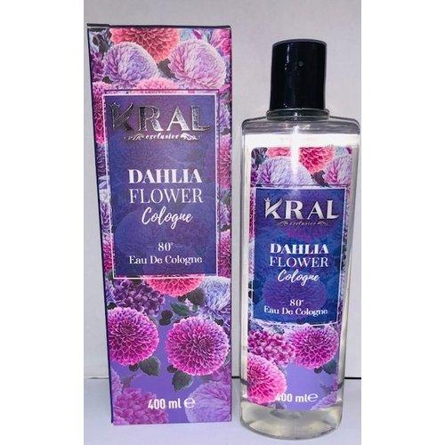Kral Kral Eau De Cologne - Dahlia Flower 400ml