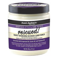 Aunt Jackies's Grapeseed Style Conditioner - Rescued Enriched With Avocado & Tamanu Oils 426gr