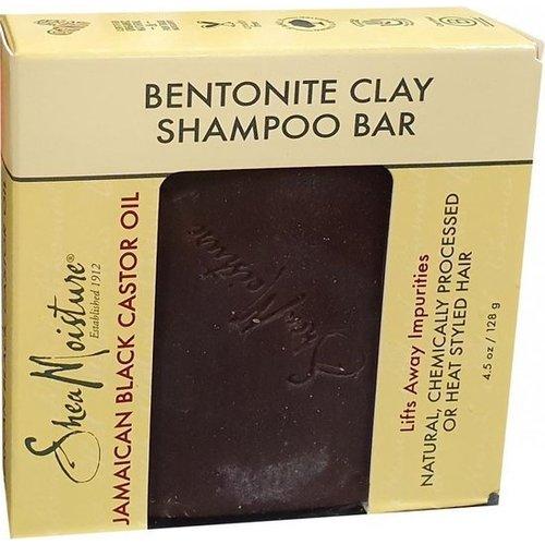 Shea Moisture Shea Moisture Jamaican Black Castor Oil Betonite Clay Shampoo Bar - 128gr