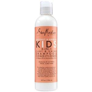 Shea Moisture Shea Moisture Coconut & Hibiscus Kids 2-In-1 Curl & Shine Shampoo & Conditioner - 236ml