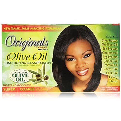 Africa's Best Africa's Best Organics Olive Oil Conditioning Relaxer System - Super Coarse