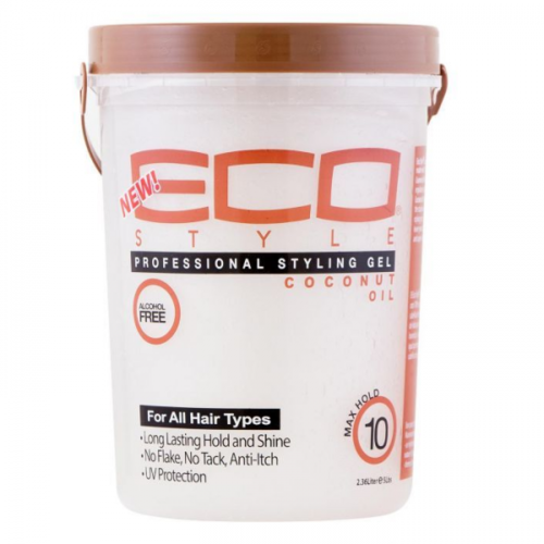 Eco Eco Professional Styling Gel - Coconut Oil 2.360 liter