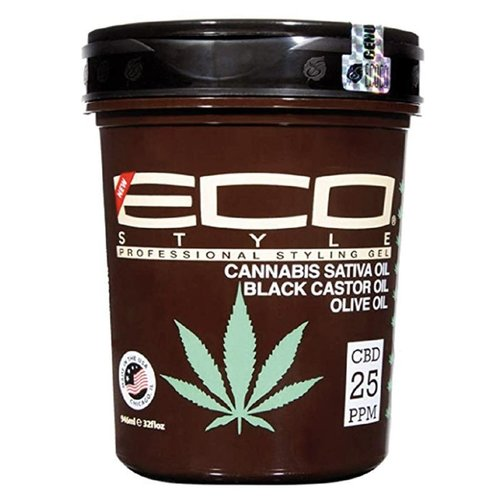Eco Eco Professional Styling Gel - Cannabis Sativa Oil  946ml