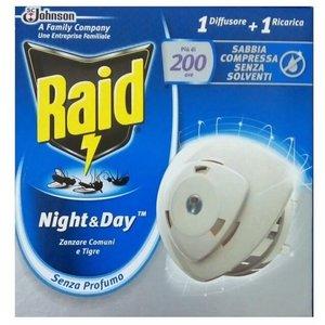 Raid Raid Night & Day Trio Insectenplug - 1 Apparaat + 1 Navulling
