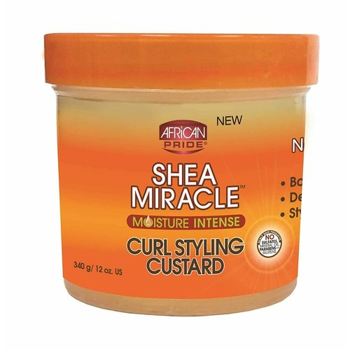 African Pride African Pride Shea Miracle Curl Styling Custard - 340gr