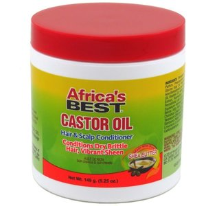 Africa's Best Africa's Best Castor Oil Hair & Scalp Conditioner - 149gr