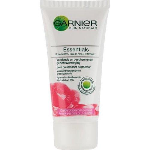 Garnier Garnier Skin Naturels Gezichtscreme - Essentials Rozenwater + Vitamine E 50ml