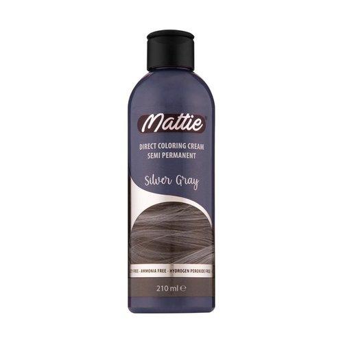 Mattie Mattie Direct Coloring Cream Semi-Permanent  - Silver Gray 210ml