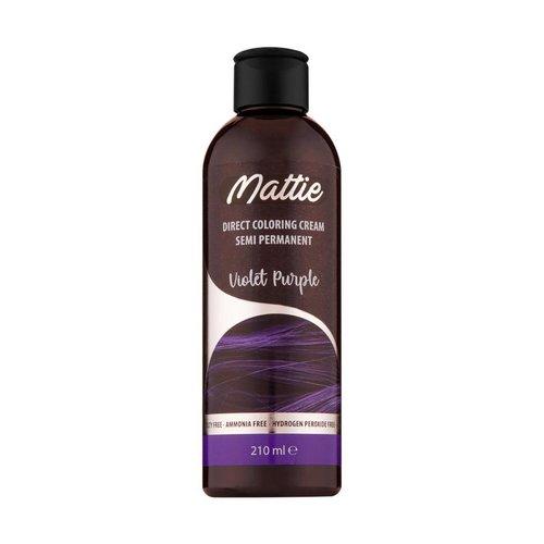 Mattie Mattie Direct Coloring Cream Semi-Permanent  - Violet Purple 210ml