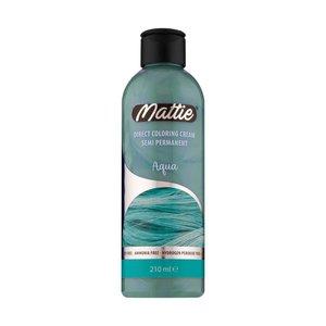 Mattie Mattie Direct Coloring Cream Semi-Permanent  - Aqua 210ml