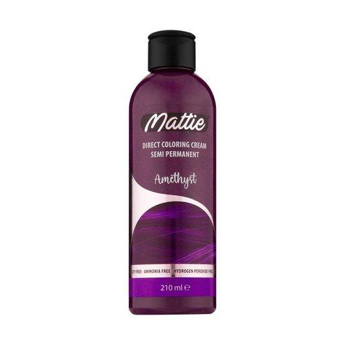 Mattie Mattie Direct Coloring Cream Semi-Permanent  - Amethyst 210ml