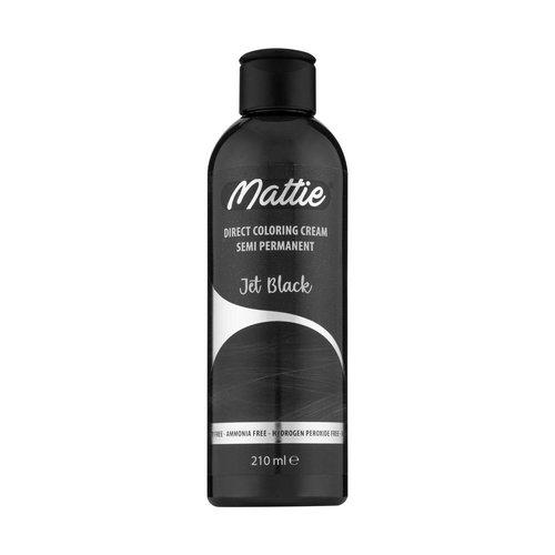 Mattie Mattie Direct Coloring Cream Semi-Permanent  - Jet Black 210ml
