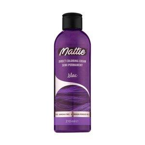 Mattie Mattie Direct Coloring Cream Semi-Permanent  - Lilac 210ml