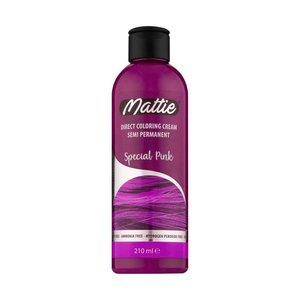 Mattie Mattie Direct Coloring Cream Semi-Permanent  - Special Pink 210ml