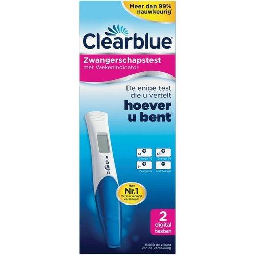 Clearblue Clearblue Zwangerschapstest - Met Wekenindicator 2 Digitale Testen