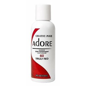 Adore Adore Semi-Permanent Haarverf - Truly Red Nummer 60 118ml