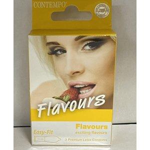 Flavours Flavours Condoom - 3 stuks