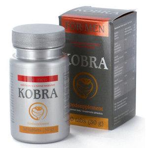 Kobra Kobra For Men Erectiepillen - 30 tabletten