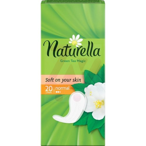 Naturella Naturella Grean Tea Magic Inlegkruisjes - Normal 20 stuks