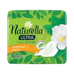 Naturella Naturella Green Tea Magic Ultra Maandverband -  Normal 10 stuks