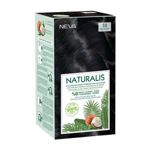 Neva Neva Naturalis Vegan Haarverf - Intens Dark Brown 3.0