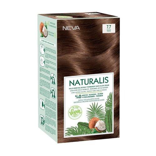 Neva Neva Naturalis Vegan Haarverf - Karamel 7.7