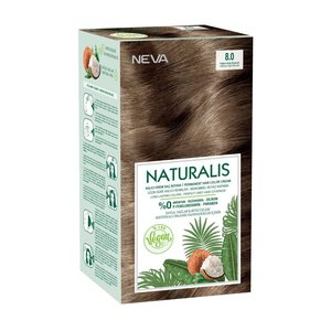 Neva Neva Naturalis Vegan Haarverf - Intens Light Blonde 8.0
