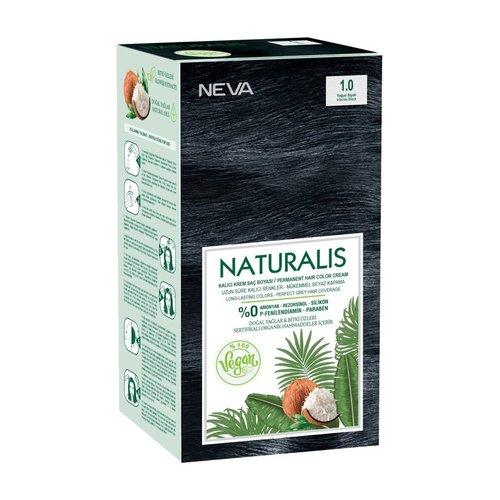 Neva Neva Naturalis Vegan Haarverf - Intens Zwart 60ml