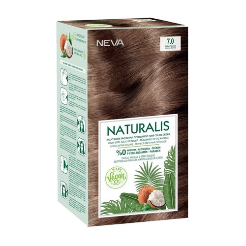 Neva Neva Naturalis Vegan Haarverf - Intens Blond 7.0