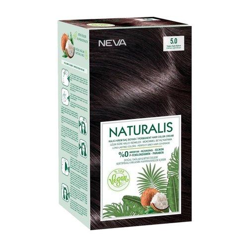 Neva Neva Naturalis Vegan Haarverf - Intens Licht Bruin 60ml