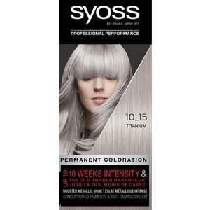 Syoss Syoss Haarverf - Titanium 10-15