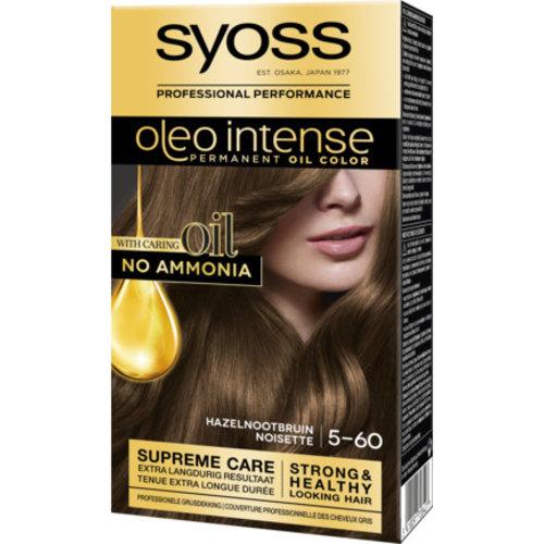Syoss Syoss Oleo Intense Haarverf - Hazelnootbruin 5-60