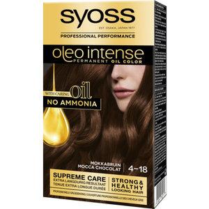 Syoss Syoss Oleo Intense  Haarverf - Mokkabruin 4-18