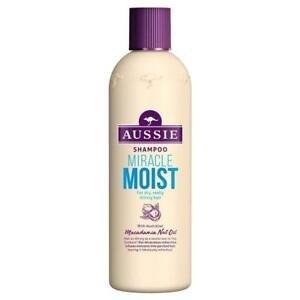 Aussie Aussie Miracle Moist met Australische Macadamia Noot Olie - Shampoo 300ml