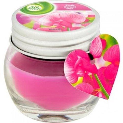 Air Wick Air Wick Pink Sweet Pea - Geurkaars 30g