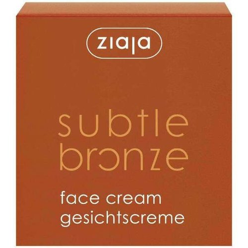 Ziaja Ziaja Subtle Bronze - Gezichtscreme 50ml