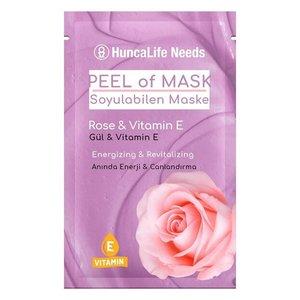 Huncalife HuncaLife Needs Rose & Vitamin E - Peel Off Masker 10ml