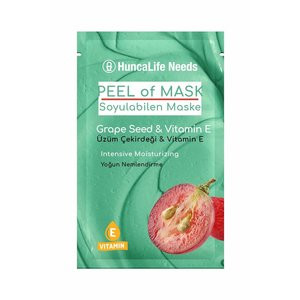 Huncalife HuncaLife Needs Grape Seed & Vitamin E - Peel Off Masker 10ml