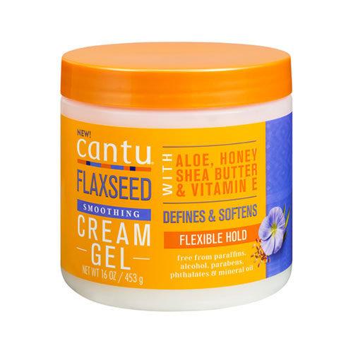 Cantu Cantu Flaxseed - Smoothing Cream Gel 453g