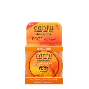 Cantu Cantu Shea Butter - Extra Hold Edge Stay Gel 64g
