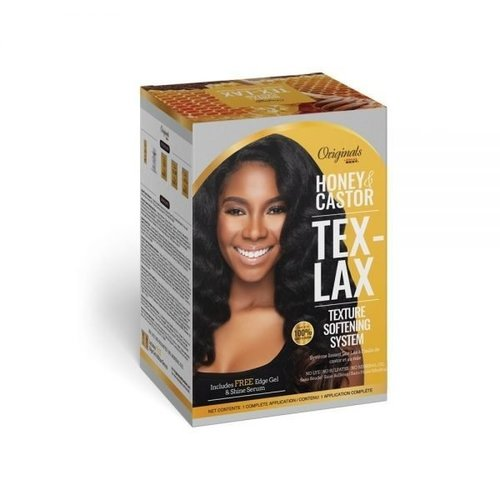 Africa's Best Africa's Best Honey & Castor - Tex-Lax Texture Softening System Kit