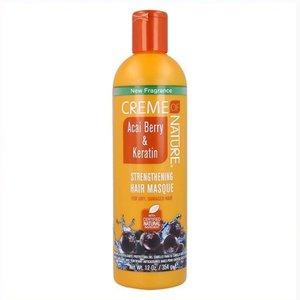 Creme of Nature Creme of Nature Acai Berry & Keratin - Strengthening Masque 355ml