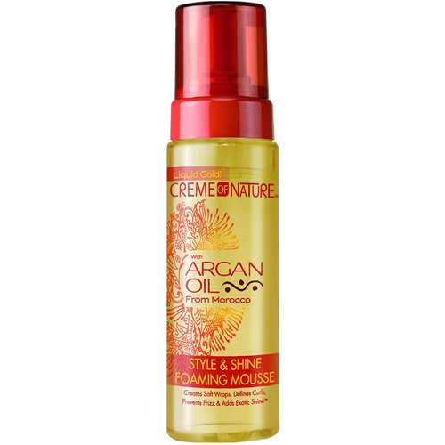 Creme of Nature Creme of Nature Argan Oil - Style & Shine Foaming Mousse 207ml