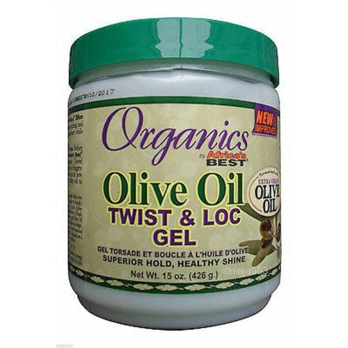 Africa's Best Africa's Best Organics Olive - Twist & Loc Gel 426g