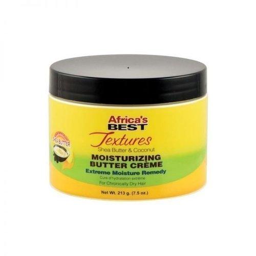 Africa's Best Africa's Best Textures - Shea Butter & Coconut Moisturizing Butter Creme 213g