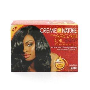 Creme of Nature Creme of Nature Argan Oil - Relaxer Kit Super